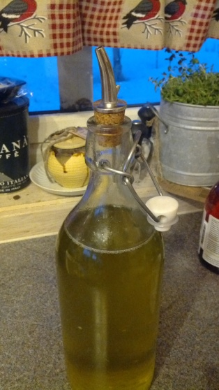 My crafty Oil Blending Bottle