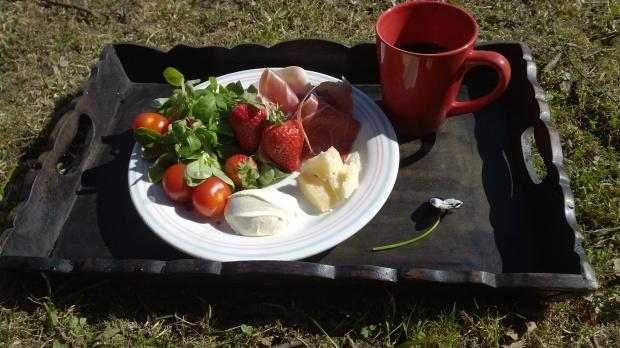 Rød frokost